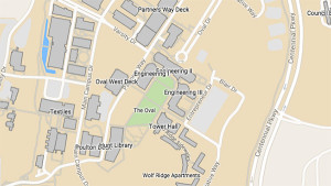 Map of Centennial Campus