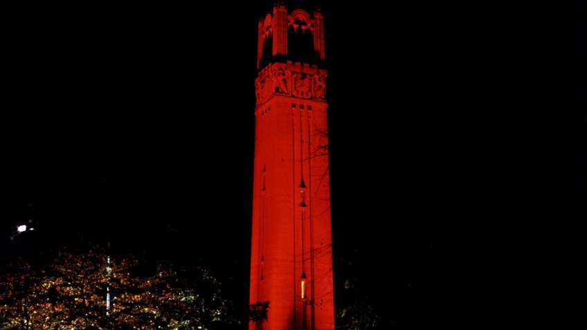 red belltower