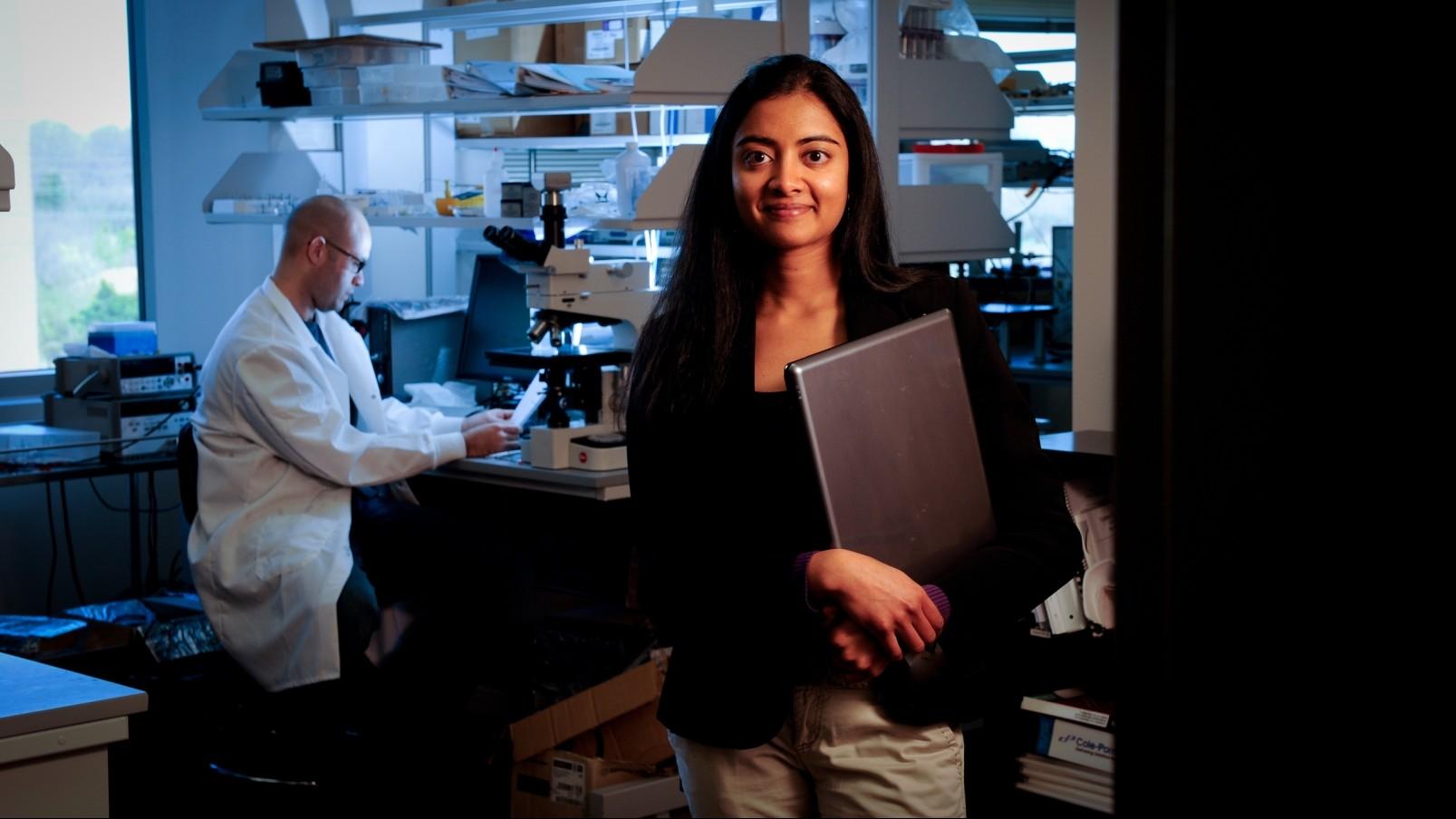 photo of PhD student Vindhya Kundura