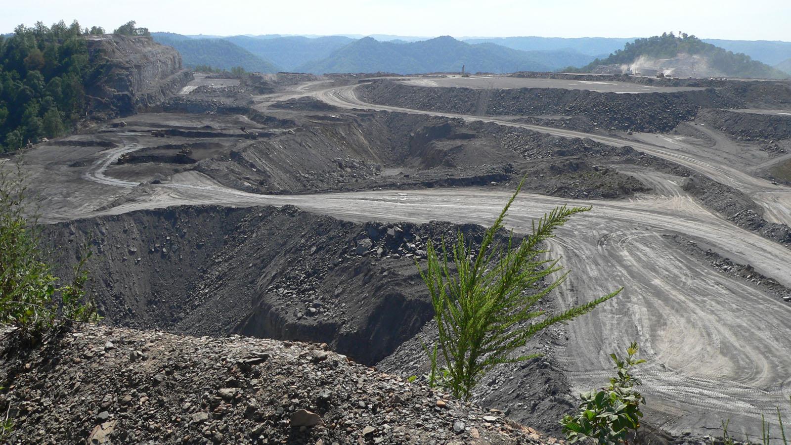 mountaintop landscape excavation