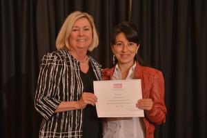 First place: Dr. Lilian Matallana