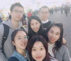 donghua university 3+X students enjoying the north carolina state fair