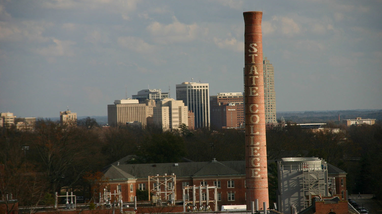 skyline and smokestack