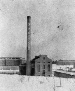 smokestack in 1924