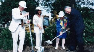 Lydia Villa-Komaroff at the Groundbreaking at Northwestern University