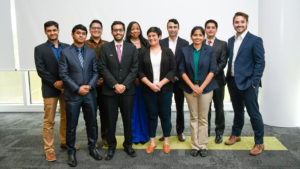 3MT Finalists lined up