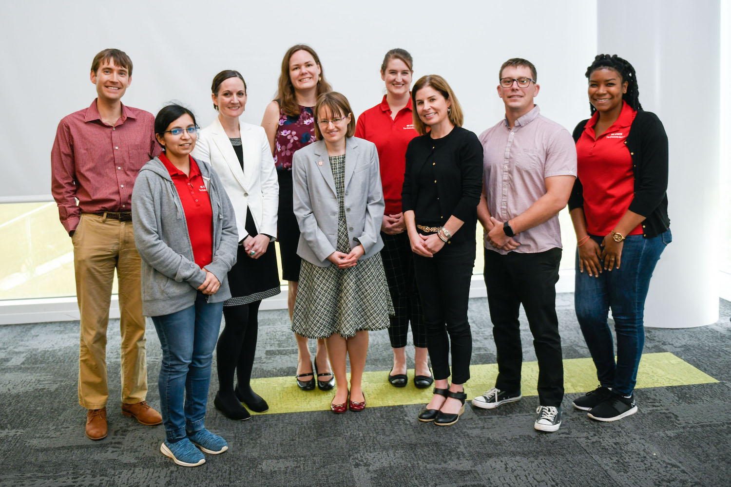 Professional Development Team Group Photo at 2019's 3MT Event