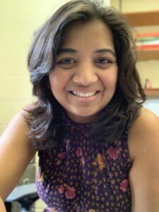 Deepti Salvi, Outstanding Postdoc Mentorship Award Winner