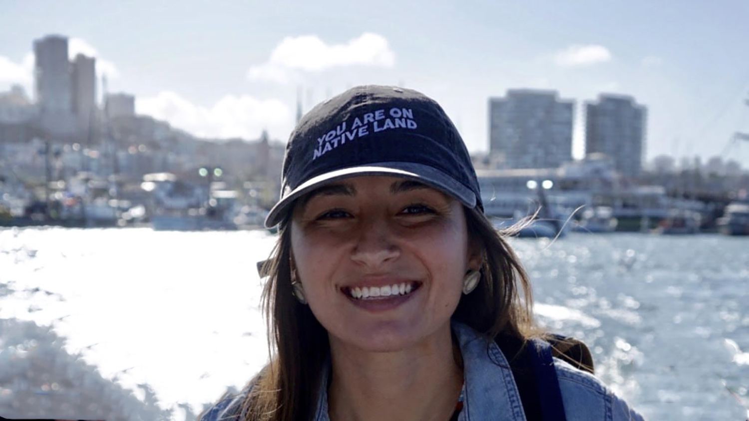 Jocelyn Painter on boat - NC State Student Brings Indigenous Knowledge to State Climate Policies - College of Natural Resources News NC State University